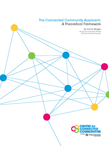 """Cover art for the publication """"Connected Community Approach a theoretical framework"""""""