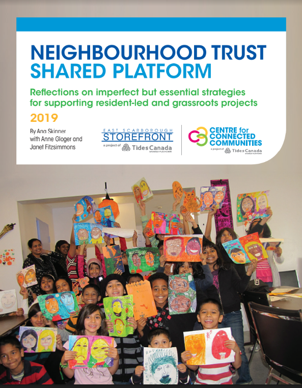 Cover image to Neighbourhood trust shared platform